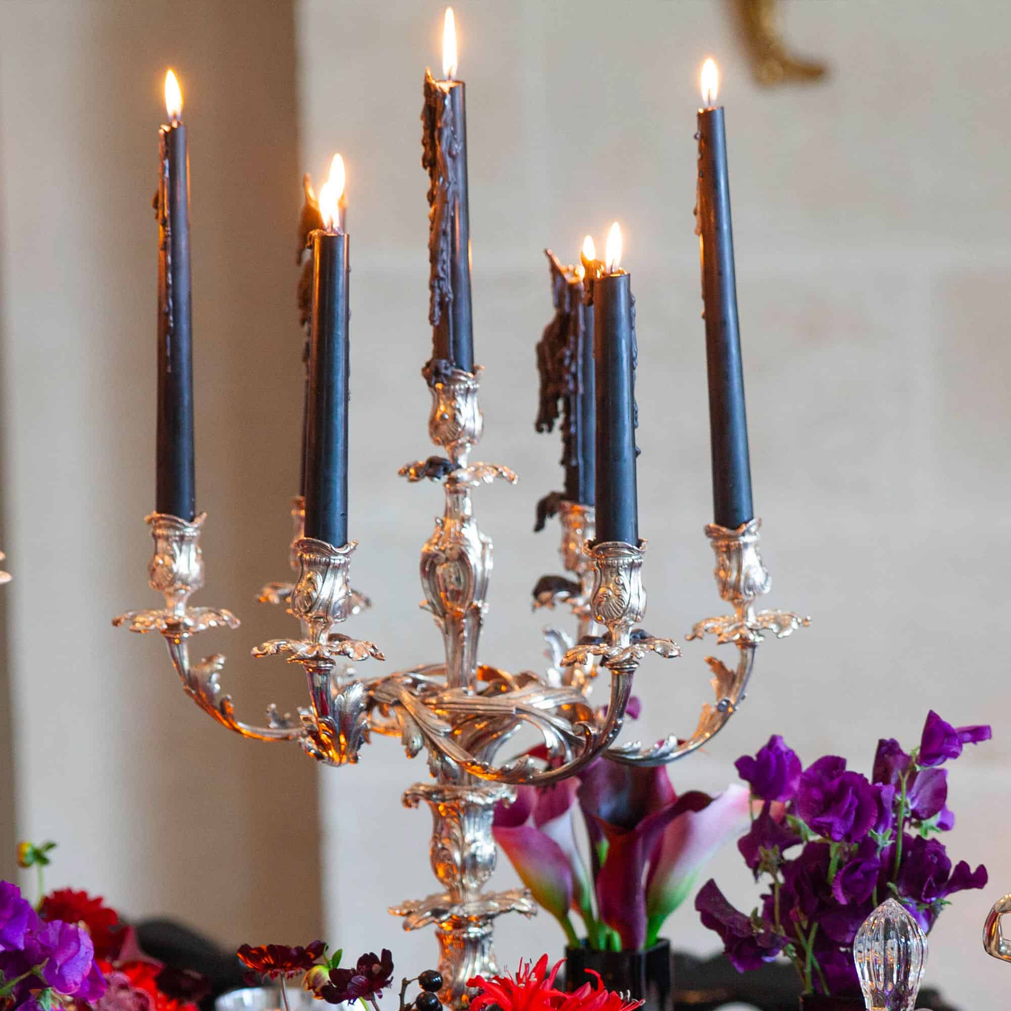 chandelier rocaille  feux zooom